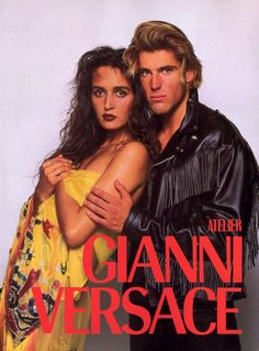 Gianni Versace Spring/Summer 1989 by Bruce Weber