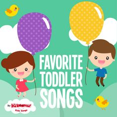 The best toddler songs to sing together!  #kidsongs #toddler