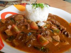 Thai Red Curry, Stew, Chili, Cooking, Breakfast, Ethnic Recipes, Red Peppers, Kitchen, Morning Coffee