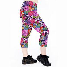 TATTOO FLORAL Tattoo Floral Capri Leggings are made from 100% polyester heavy… Running Leggings. Cycle Leggings Cycling Leggings. Roller Derby Leggings. Exercise Leggings. Workout Leggings. Dance Leggings. Gym Leggings. Fitness Leggings. Yoga Leggings. Pole Dance Leggings. Pole Leggings. Pilates Leggings. Tattoo Leggings. Floral Leggings. Rose Leggings. Lily Leggings.