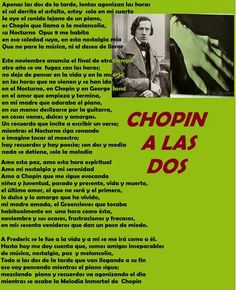 CHOPIN A LAS DOS - CHOPIN AT TWO IN AFTERNOON