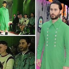 Find a girl that looks at you just like Jared Leto looks at this Star Trek coat.