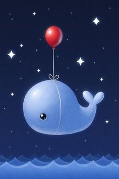 cute whale drawing - Google Search