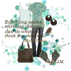 """Everything Changes"" by jenniemitchell on Polyvore"