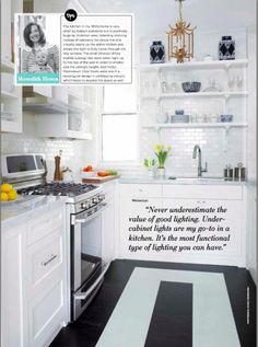 Meredith Heron Design Meredith's Kitchen Love everything about this design.