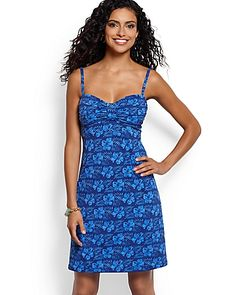 Tommy Bahama - Brolly Beach Dress with Center Tab