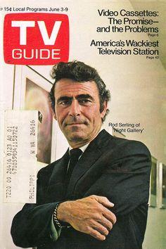 TV Guide, June 3, 1972 — Rod Serling   Night Gallery