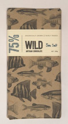 WILD chocolate packaging. How to look nice and be completely off the path.