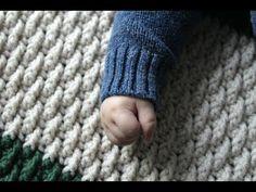 The Alpine Blanket Crochet Tutorial : YarnHookNeedles - YouTube