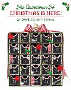 Advent Coundown to Christmas Inspiration - Hobby Lobby Ad 2015