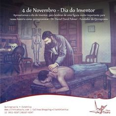 A ClínicaTsuru fazendo também história na Quiropraxia #ClínicaTsuru #Quiropraxia Referência em quiropraxia no Vale do Paraíba! Tel  012981670297