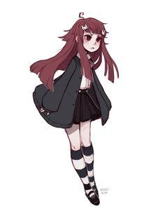 Cartoon Art Styles, Cute Art Styles, Art Drawings Sketches, Cute Drawings, Anime Girl Drawings, Cartoon Kunst, Look Man, Art Reference Poses, Kawaii Art