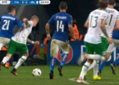 Ireland again denied penalty appeal as James McClean pushed over v Italy [Video & Tweets]