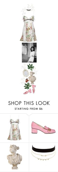 """♡ BLOSSOM ♡"" by heartbreakmotel ❤ liked on Polyvore featuring Giambattista Valli, Gucci and Charlotte Russe"