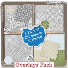 Overlays Pack (CU/PU/S4H) by Benthaicreations [btc-overlpack] - $12.83 : Digidesignresort