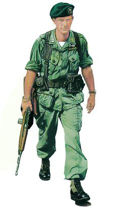 """""""Captain 5th Special Forces Group, 1965"""""""