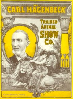 Hagenbeck Circus Poster