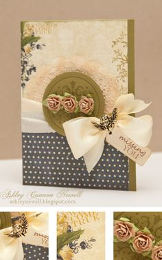 Watch a video of how this card was prepared on my blog!
