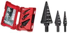 Just Tools offers Australia Wide Delivery & Full Warranty on all our quality products including the Milwaukee Metric Step Drill Bit Set. Step Drill, Drill Bit, Plumbing Tools, Milwaukee Tools, Black Oxide, Truck Accessories, Power Tools, Joinery, Tool Box