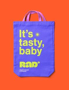 RAD - Random Absorbed Dose of Fruits on Behance Identity Design, Visual Identity, Brand Identity, Graphisches Design, Logo Design, Graph Design, Packaging Design Inspiration, Graphic Design Inspiration, Corporate Design
