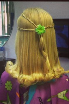 Little Girl Hairstyle Braids