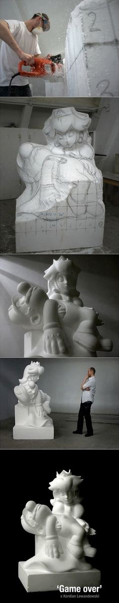 Sytrofoam sculpture...