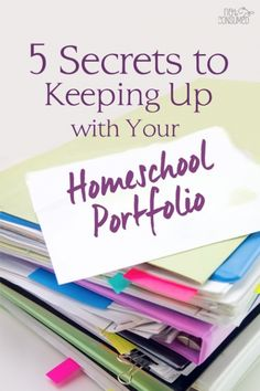 That pile of homeschool work is a thing of the past. You CAN become victorious with homeschool organization this year. Let me tell you my secrets!
