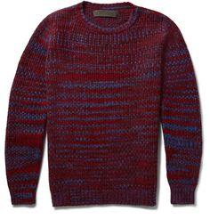 Malta Mélange Cashmere Sweater | MR PORTER