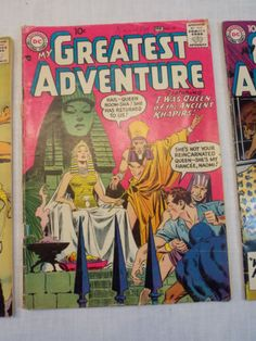 My-Greatest-Adventure-19-28-33-Vintage-DC-Comic-Book-Silver-Age-LOT-of-3