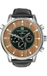 Tommy Hilfiger Harrison Multifunction Men's watch #1790873 Tommy Hilfiger. $100.74. Brand:Tommy Hilfiger. Model: 1790873. Dial color: Brown wood/black inner. Condition:brand new with tags. Band color: Black croc-embossed
