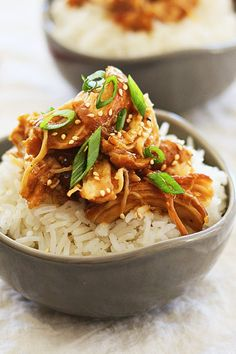 Crock Pot Honey Teriyaki Chicken – tender chicken with sweet, savory, and delicious honey teriyaki sauce. Super quick, easy, and takes only 10 mins to prep | rasamalaysia.com