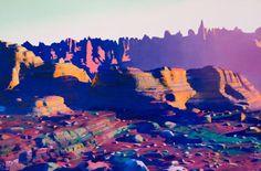 landscape topographies