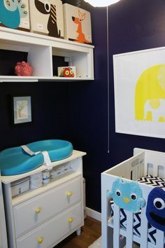 Before & After: Closet Turned Nursery | Apartment Therapy