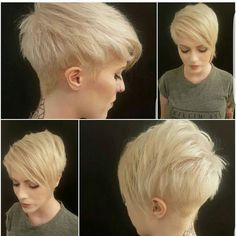 "3,854 Beğenme, 34 Yorum - Instagram'da Short Hair  Pixie Cut Boston (@nothingbutpixies): ""Great color or great cut?? Or both??,,@mal_levy Cut by @hairbychantel"""