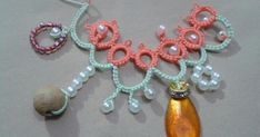 Floating Beads method tatting how-to, creating a wide range of effects.
