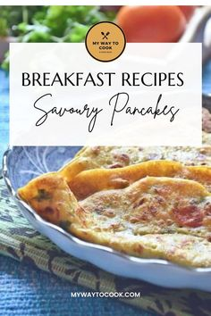 Perfect recipe when you are craving for a different and delicious breakfast. These pancakes are super easy to make. Vegan Savoury Pancakes is a simple recipe and perfect recipe for breakfast and kids lunch box. #vegan #veganrecipes #vegetarianrecipes #Veganfood #vegetarianfood #breakfast #breakfastrecipes Healthy Eating Recipes, Delicious Recipes, Vegetarian Recipes, Savory Pancakes, Good Food, Yummy Food, Cook At Home, Different Recipes, International Recipes