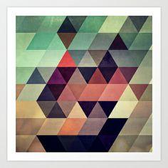 tryypyzoyd Art Print by Spires - $20.00