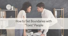 How to Set Boundaries with Toxic People - Live Well with Sharon Martin What You Can Do, How Are You Feeling, Sharon Martin, Codependency Recovery, Unsolicited Advice, Setting Boundaries, Assertiveness, Psychology Today, Toxic People
