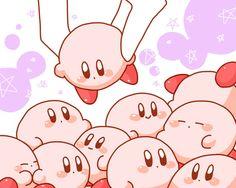 So many cute Kirbys! (≧ω≦)