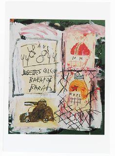 Jean Michel Basquiat - 1981.