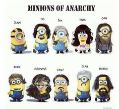 SAMCRO minions - Lmbo!!! This is awesome.