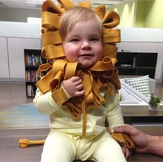 Diy clothes no sewing for kids simple New Ideas - DIY Clothes Ideen Baby Lion Costume, Diy Baby Costumes, Baby Halloween Costumes, Diy Halloween, Costume Ideas, Costumes Kids, Halloween 2017, Baby Kostüm, Baby Kids