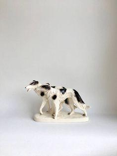 Mid Century Porzellan Hunde Porzellanfigur Sitzendorf Barsoi Mid Century, Interior, Etsy, Greyhounds, Vintage Decorations, Antiquities, Figurine, Indoor, Interiors