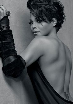 Love this photo of Diva Janet Jackson..this is luscious!
