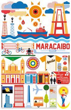 Maracaibo. by Gustavo Solís Nuñez, via Behance