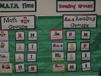 Today I am going to write a quickie post about how I am organizing guided math this year. I found and adapted this idea somewhere on Pro...