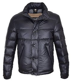 Burberry Brit Men's Navy Blue Duck Down Nova Check Lined Puffer Coat (XXL) BURBERRY ++You can get best price to buy this with big discount just for you.++