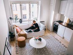 Sohvani tarina - Vilma P. Shag Rug, Homes, Living Room, Lifestyle, Rugs, Home Decor, Shaggy Rug, Farmhouse Rugs, Houses