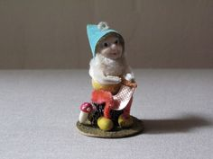 Vintage Shiny Brite Gnome/Elf.