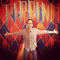 """""""When you're extraordinary, you gotta do extraordinary things. #pippinmusical""""  @andyroo210"""
